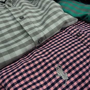 پیراهن پشمی سایز بزرگ پاییزه گرم