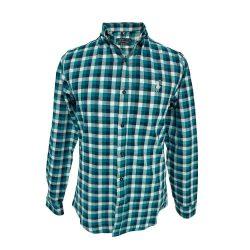 پیراهن پشمی چهارخونه
