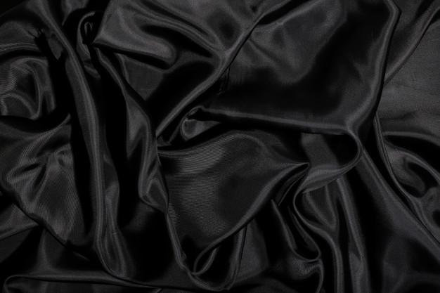 پارچه ابریشمی مشکی