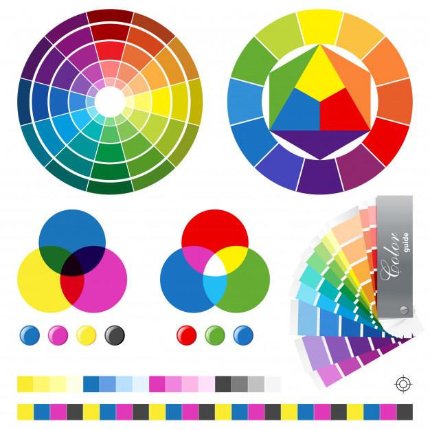 چرخه رنگ ، رنگ های اصلی، فرعی و مکمل