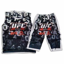 ست تاپ و شلوارک طرح UFC