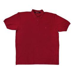 پولوشرت سایز بزرگ رنگ قرمز