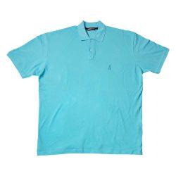 پولوشرت سایز بزرگ رنگ آبی