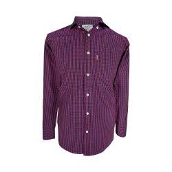 پیراهن اسپرت مردانه چهارخونه ریز