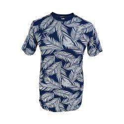 تیشرت هاوایی آستین کوتاه یقه گرد