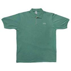 تیشرت یقه دار آستین کوتاه BOSS سبز
