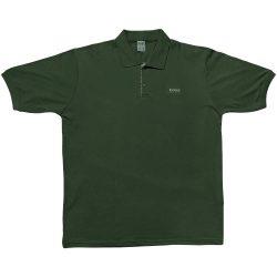 تیشرت یقه دار آستین کوتاه BOSS سبز یشمی