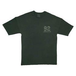 تیشرت لانگ و لش طرح ۹۲ سبز یشمی