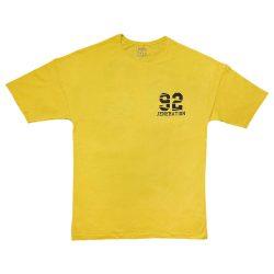 تیشرت لانگ و لش طرح ۹۲ زرد