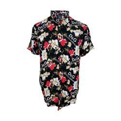 پیراهن گل گلی طرح D & G