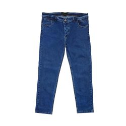 شلوار لی سایز بزرگ مردانه آبی