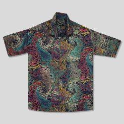 پیراهن هاوایی سایز بزرگ مردانه