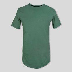 تیشرت ساده سبز بدون طرح