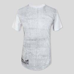 تیشرت سفید مدل FENDI آستین کوتاه