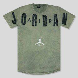 تیشرت سنگشور سبز مدل JORDAN
