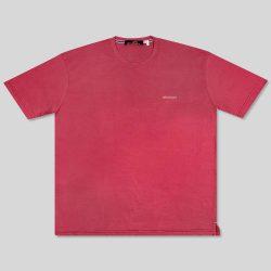 تیشرت سایز بزرگ قرمز ساده
