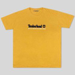 تیشرت سایز بزرگ زرد Timberland