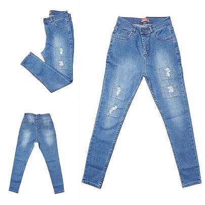 شلوار جین دمپا تنگ