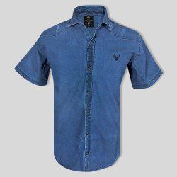 پیراهن لی سایز بزرگ سورمه ای