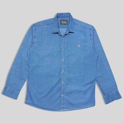 پیراهن لی سایز بزرگ آبی