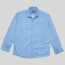 پیراهن لی سایز بزرگ آبی روشن