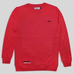 پلیور دورس ساده قرمز مدل ماراتون