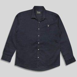 پیراهن لی سایز بزرگ ساده دودی