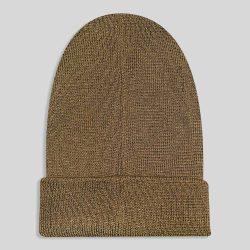 کلاه بافت قهوه ای