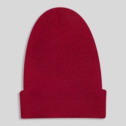 کلاه بافت زرشکی