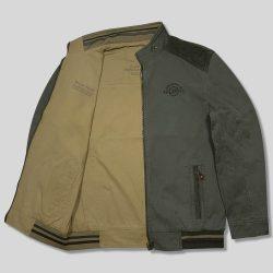 کاپشن کتان جیپ دو رو سایز بزرگ دو رو