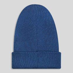 کلاه بافت سورمه ای