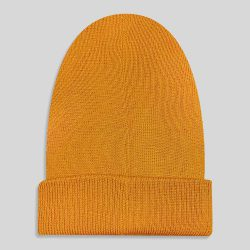 کلاه بافت نارنجی