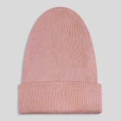 کلاه بافت صورتی