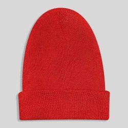 کلاه بافت قرمز